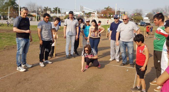 """Acebal jugó su etapa local del """"Torneo Provincial de Bolitas"""""""