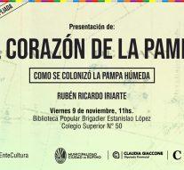 Rubén Ricardo Iriarte presenta su libro «El Corazón de la Pampa»