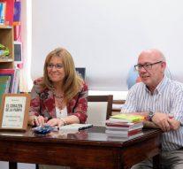 Se presentó en Rufino el libro «El Corazón de la Pampa» de Rubén Iriarte