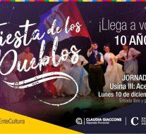 La «Fiesta de los Pueblos» inicia su recorrido en Acebal junto a la Usina Cultural III