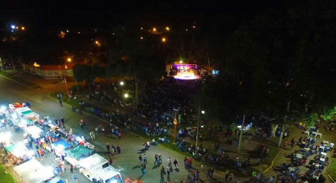 Imponente fue el Festival Folklórico de Peyrano
