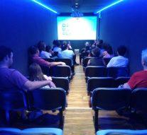 Cine Móvil en Villa Mugueta