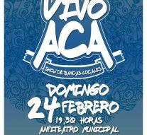 «Vivo Acá» el Festival de los Artistas de Arroyo Seco