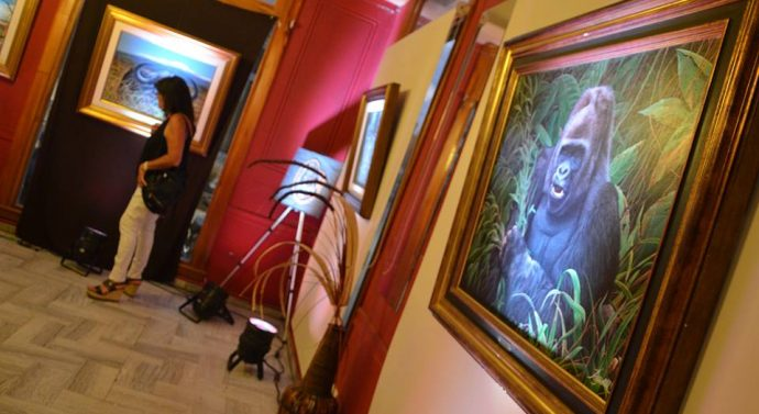 Rufino: Se inauguró la Muestra de Jorge Rajadell