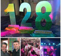 Festejos por los 128 años de Peyrano