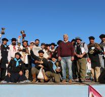 Una multitud acompañó el «3° Concurso de Asado a la Estaca» en Arroyo Seco