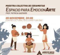 Arroyo Seco: Muestra de Ceramistas «Espacio para EmocionArte»