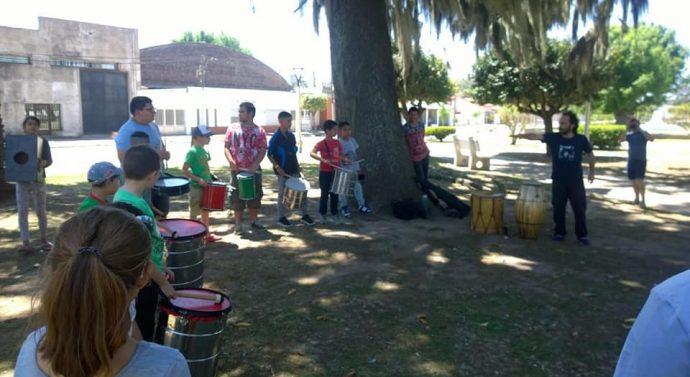 Talleres Culturales de Alcorta presentes en Juncal