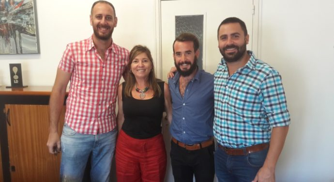 La Secretaria de Cultura de Rosario se reunió con integrantes del Ente Cultural Santafesino
