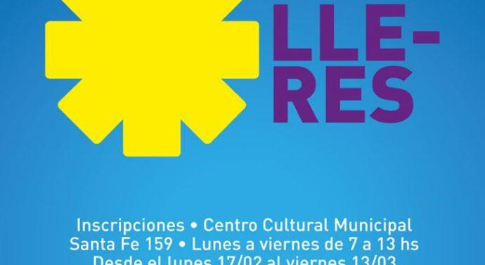 «Talleres Culturales 2020» en Rufino