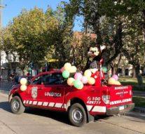 Arroyo Seco: Se realizó la Caravana Musical por el Día de los Jardines