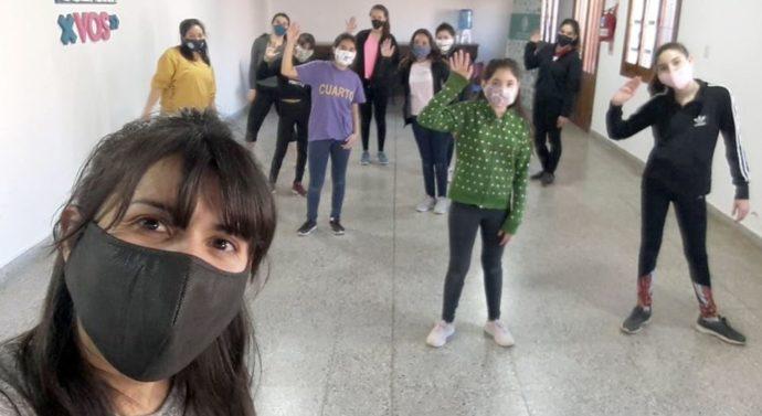 Rufino: Clases de Danzas en el CCR