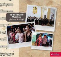 Venado Tuerto: El «Taller Municipal de Canto» cumple su noveno aniversario