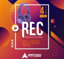 Arroyo Seco: Se viene el estreno de REC: Ciclo de Recitales en casa
