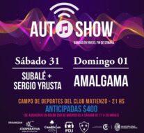 Fin de semana de AutoShow en Rufino