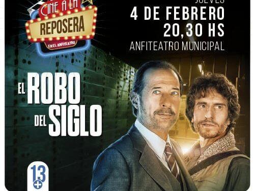 Arroyo Seco: Continúa el «Cine a la reposera» con «El Robo del siglo»