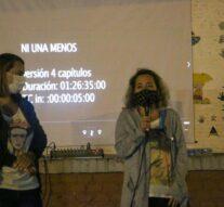 Arroyo Seco: Se proyectó el film «Ni una menos» en el Anfiteatro