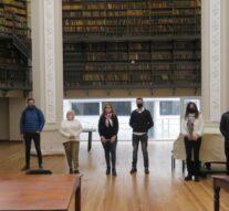 El Ente Cultural se reunió en la Biblioteca Argentina de Rosario