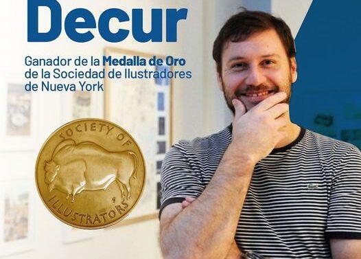 Decur, ganador de la medalla de oro de la Sociedad de Ilustradores de Nueva York