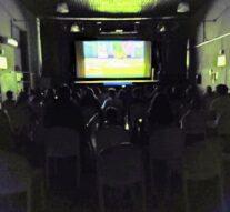 A sala llena lo más pequeños disfrutaron del Cine en Melincué