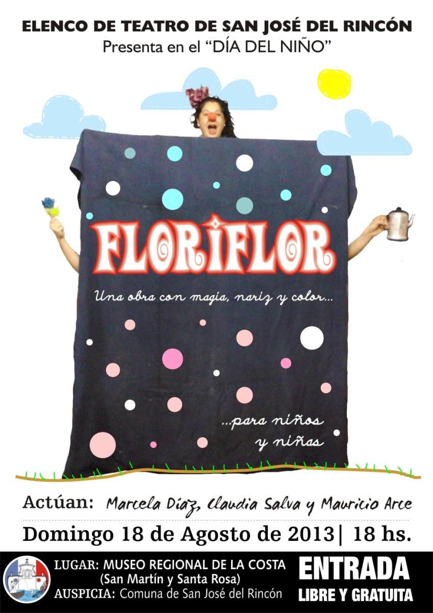 Floriflor… una obra con magia, nariz y color