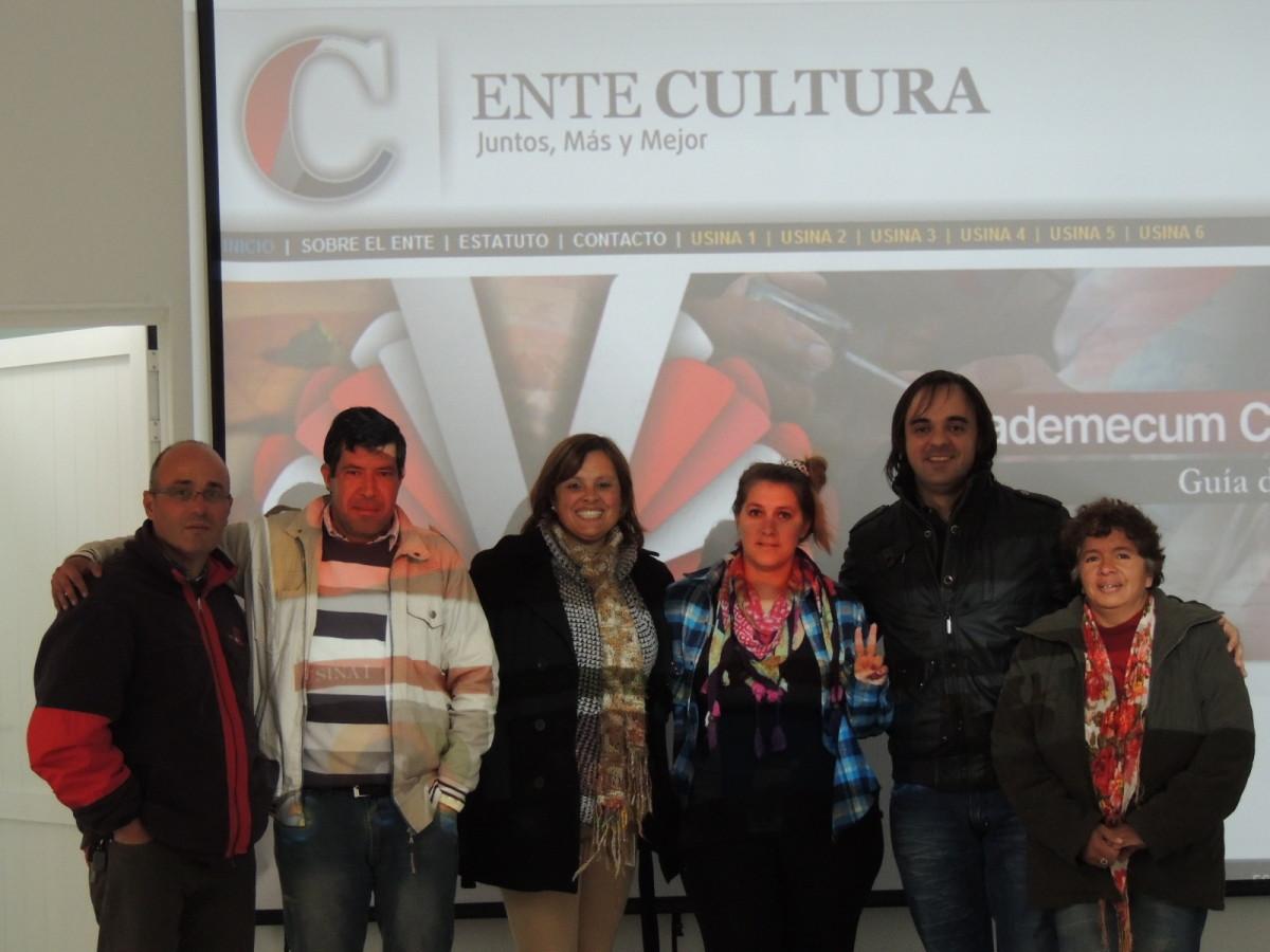 La Usina Cultural IV se reunió en Santa Rosa de Calchines