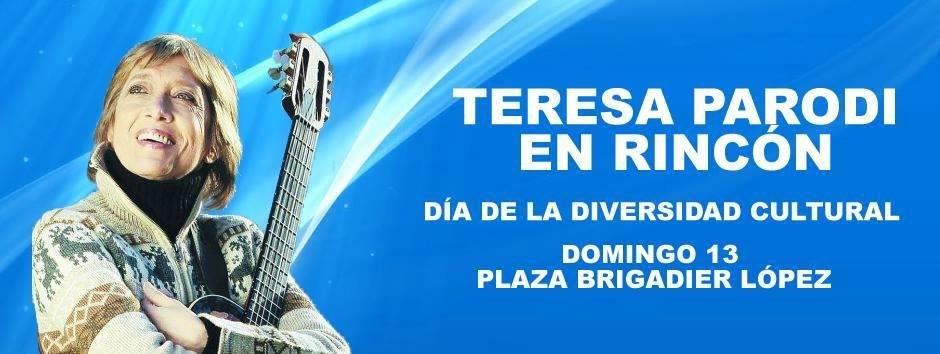Teresa Parodi en San José del Rincón: feria y espectáculos en vivo