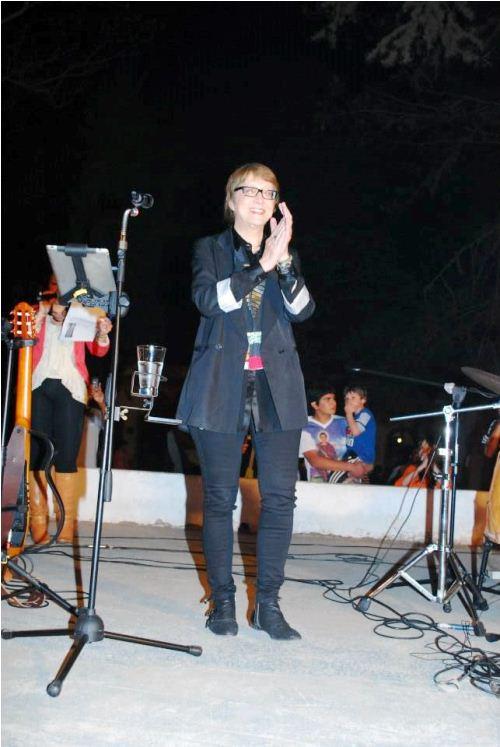 Rincón vibró con la voz de Teresa Parodi
