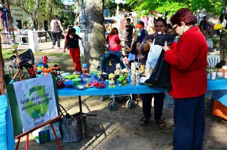 San José del Rincón: Cierre anual «Taller Reci Art»: exposición y adelantos