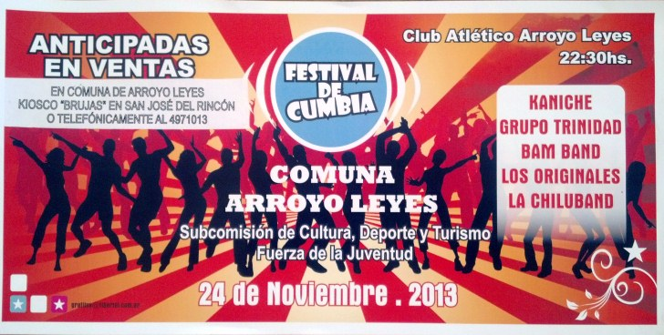 Arroyo Leyes: Ritmo y diversión para una nueva edición del  Festival de Cumbia