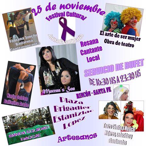 San José del Rincón: 25 de Noviembre Festival por una vida libre de violencia