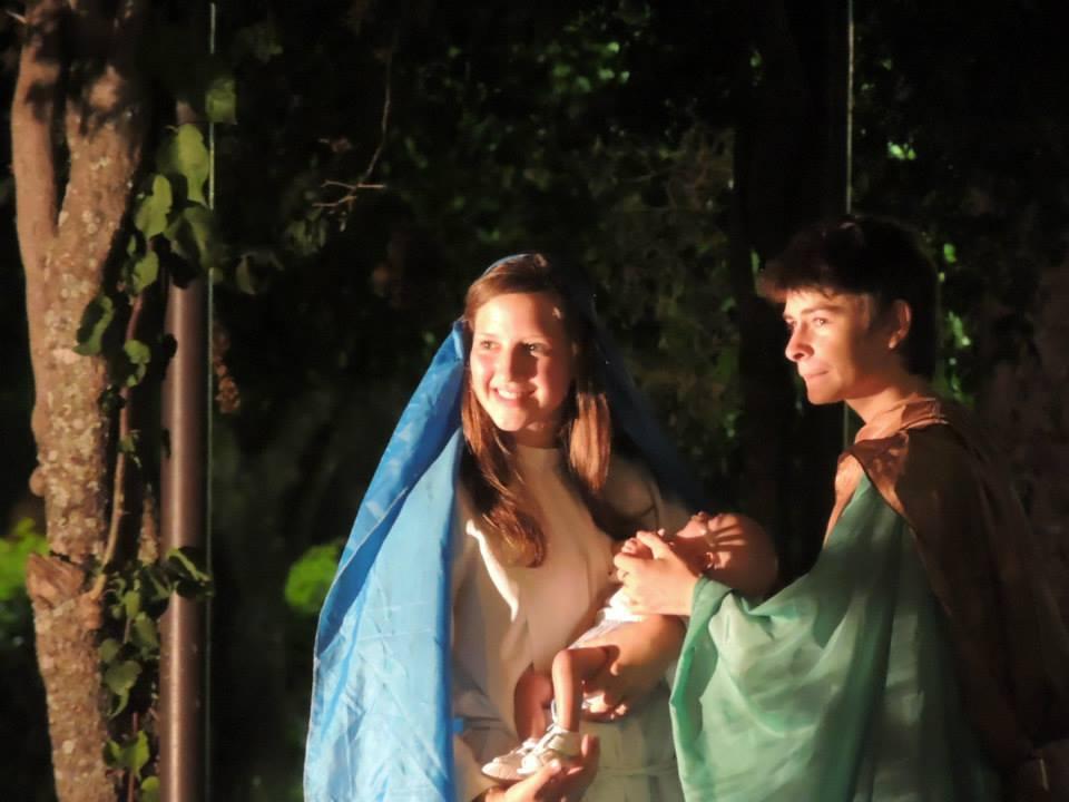 Santa Rosa de Calchines: Se desarrolló un emotivo Pesebre Viviente