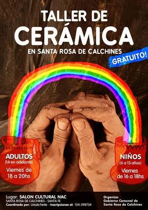 Santa Rosa de Calchines: Taller de Cerámica