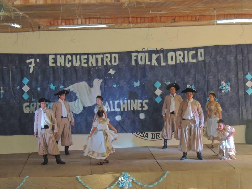 """Se desarrolló el 7º Encuentro de Danzas """"Herencia de una Paloma"""""""