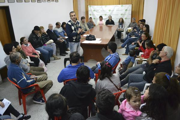 "Recreo: Se concretó la reunión sobre el Programa ""Vademécum Cultural"""