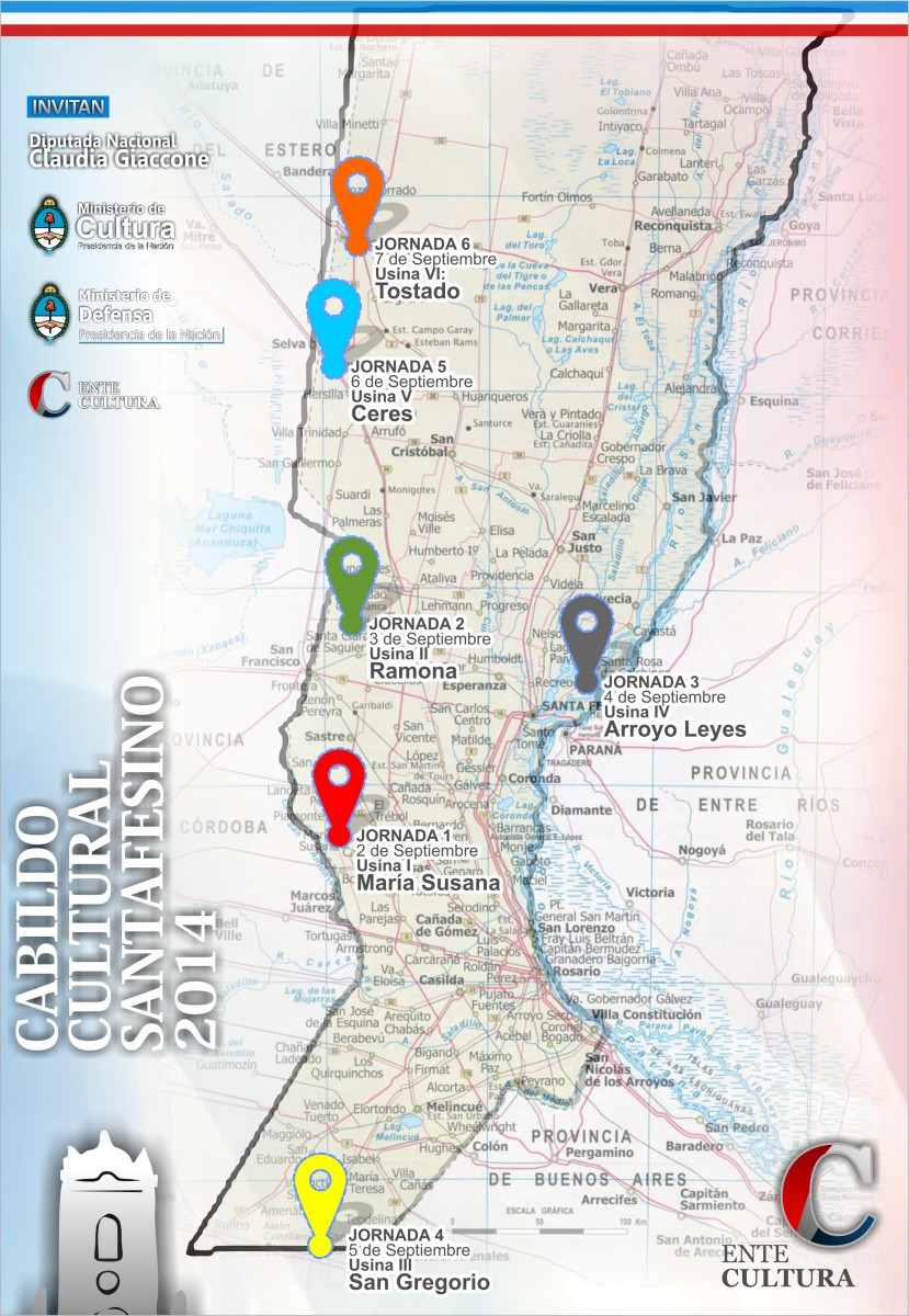 Arroyo Leyes recibe la tercera jornada del Cabildo Cultural Santafesino