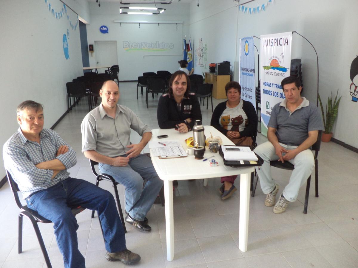 En Santa Rosa de Calchines se reunieron los integrantes dela Usina IV