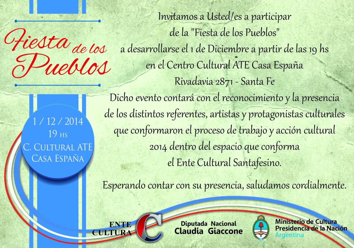 """""""La Fiesta de los Pueblos"""" se prepara en la ciudad de Santa Fe"""