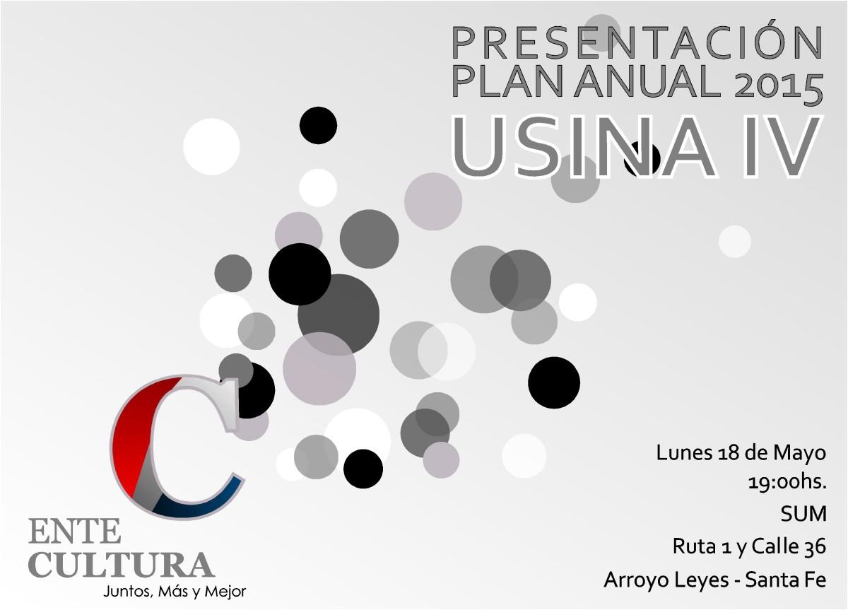 """El Ente Cultural Santafesino presenta su """"Plan 2015"""" en Arroyo Leyes-Usina IV"""