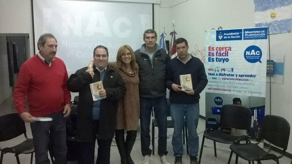 """Santa Rosa de Calchines recibió el Libro """"Esencia de mi pueblo"""""""