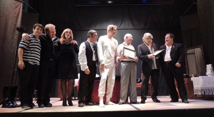 """El """"Teatro y la Historia"""" junto a Lito Cruz movilizaron a todo el interior santafesino"""