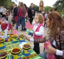 """Se realizó la """"Feria de Mini Artesanos"""" en Santa Rosa de Calchines"""