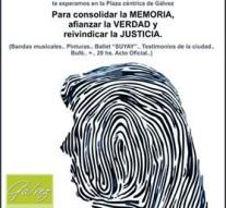 """Gálvez conmemora el """"Día de la Memoria por la Verdad y la Justicia"""""""