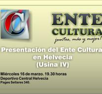 Presentación del Ente Cultural Santafesino en Helvecia