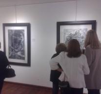 Gálvez: Muestra de grabados en el Museo de Artes Visuales