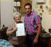 Gessler homenajeó al Suboficial José Domingo Savino