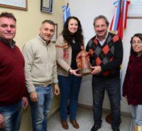 """La ciudad de Recreo recibió el premio """"""""Julio Migno"""""""