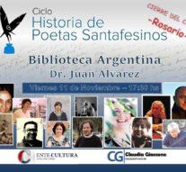 El ciclo de Poetas Santafesinos cierra el año en la Biblioteca Argentina