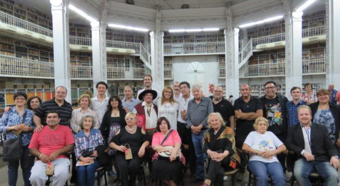 Los Poetas santafesinos dijeron presentes en la Biblioteca Argentina