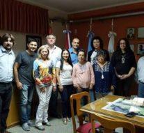 Primera reunión de la Usina Cultural IV en Monte Vera